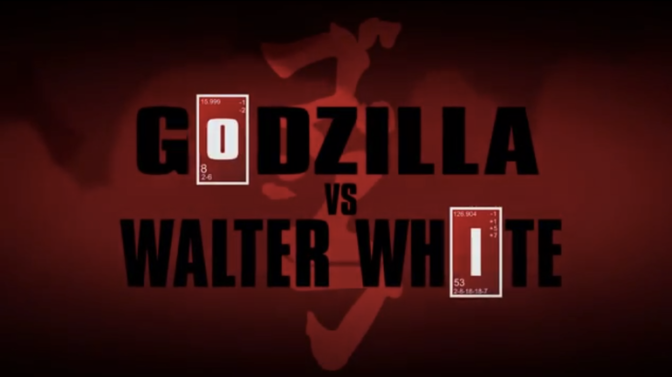 Le Youtube Feature: Godzilla vs Walter White (Better than Actual Gojira Movie)